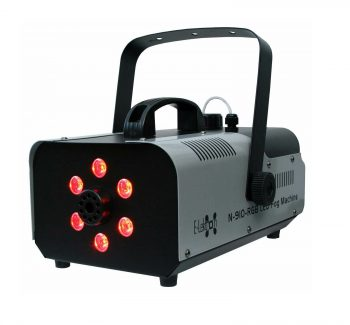 Nebelmaschine Funk 900 Watt mit LED Effekt inkl. Fluid