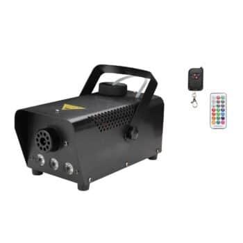 Nebelmaschine Funk 500 Watt mit LED Effekt inkl. Fluid